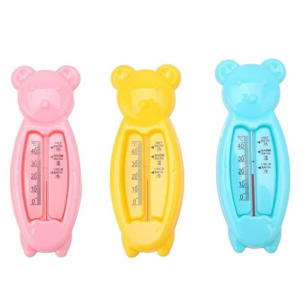 Baby Bath Thermometer Plastic Bear