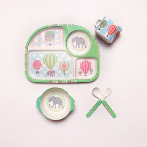 Baby Bowls Kids Feeding Set