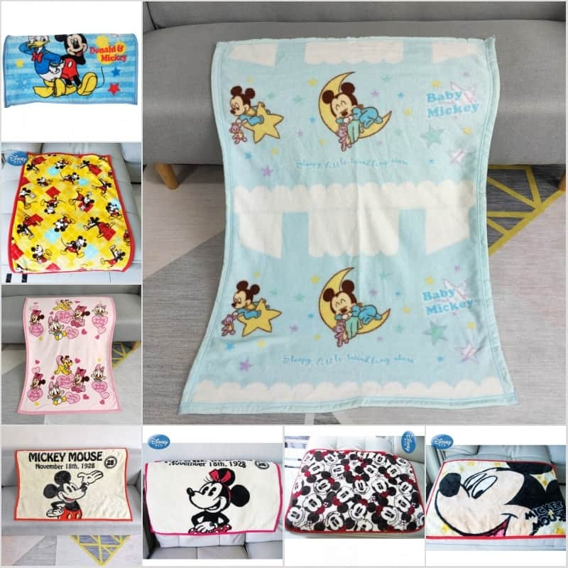 Kids Blanket Cute Cartoon Design